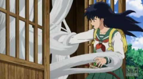 Well, Kagome, at least they're not tentacles.