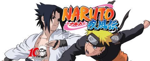 Naruto vs. Sasuke, from Naruto Shippuden