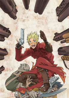 Now this is the Trigun I remember...