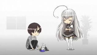 Nyarlathotep as a little girl. Because that's not wrong at all!