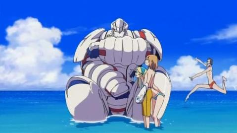 Robot beach episode yeeeeeah!